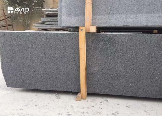 Black Granite Stone Tiles for Kitchen Floor G654 Sesame Cut Strips High Hardness