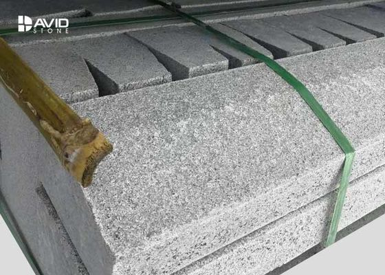 G654 Sesame Granite Paving Stones Flamed , Natural Granite Paving Slabs