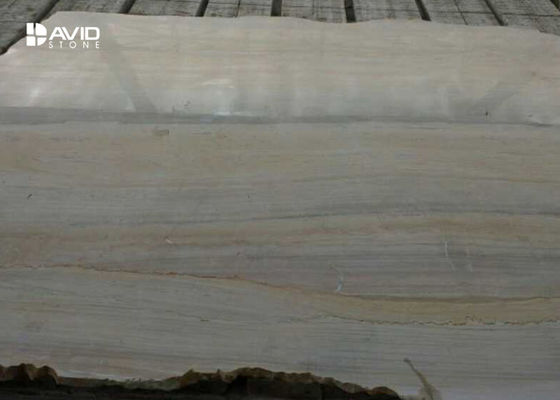 Yellow Marble MarbleNatural Stone Slabs With Wood Vein Parallel Pattern
