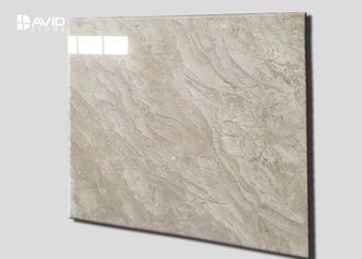 Amasya Beige Marble Stone Tile Strong Wear Resistance For Hotels / Exhibition Halls