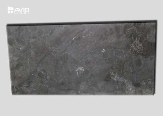 30mm Thickness Limestone Patio Slabs Honed / Polished / Flamed Surface Treament
